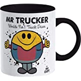 Trucker Mug - Gift for The World's No 1 Truck Driver Present Van Gift for dad him Man