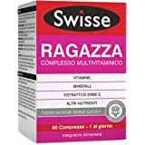 Swisse Multivitaminico Ragazza, Integratore Alimentare Multi-nutriente per Integrare la Nutrizione delle Ragazze, 60…