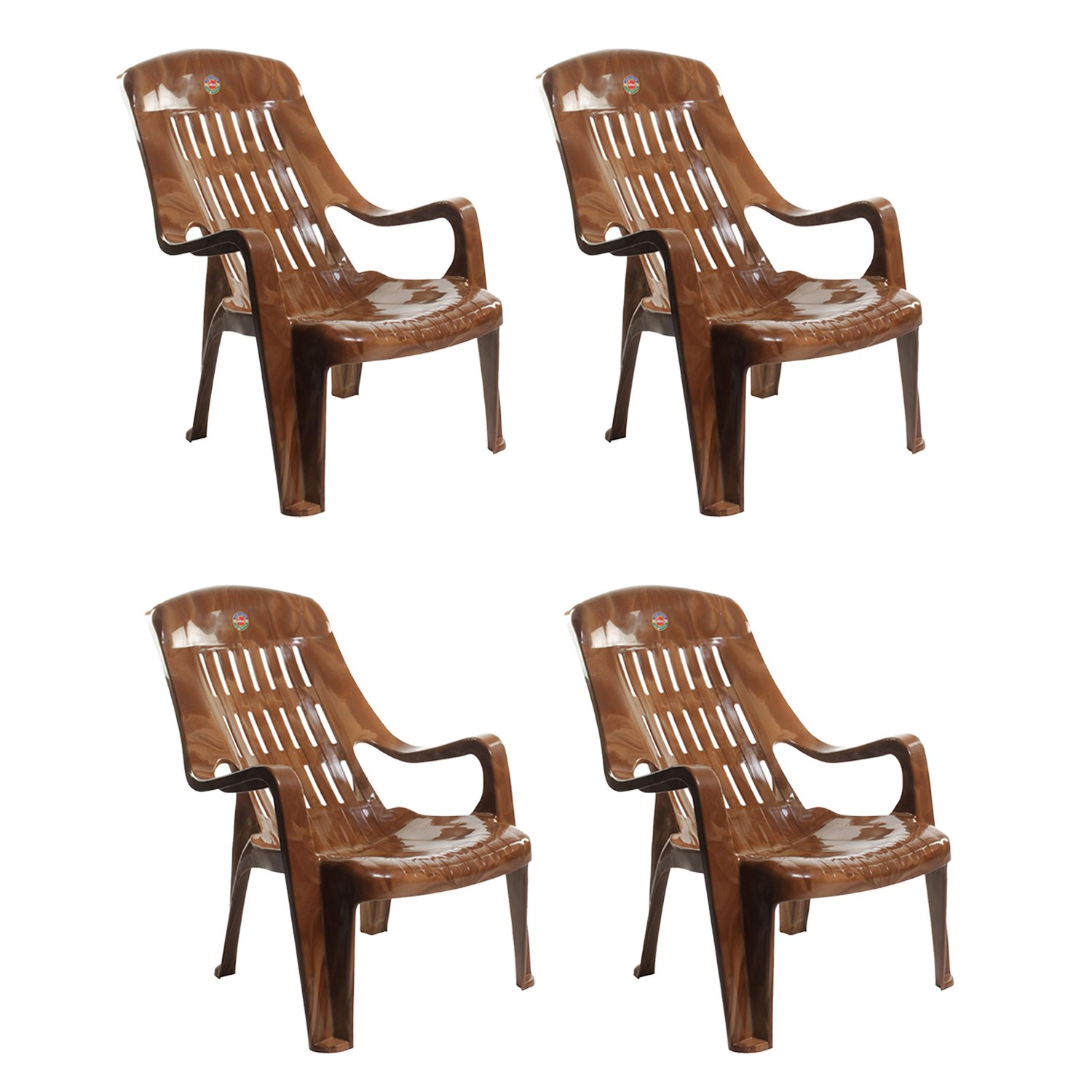 Cello fort Sit Set of 4 Chairs Beige Amazon Home & Kitchen