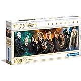 Clementoni- PZL 1000 Panorama Harry Potter Puzzle Adulto, Multicolor (61883)
