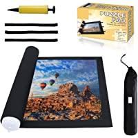 Jigsaw Puzzle Mat Roll Up - Saver Large Puzzles Board for Adults Kids 300 500 1000 1500 2000 Pieces, Storage and…