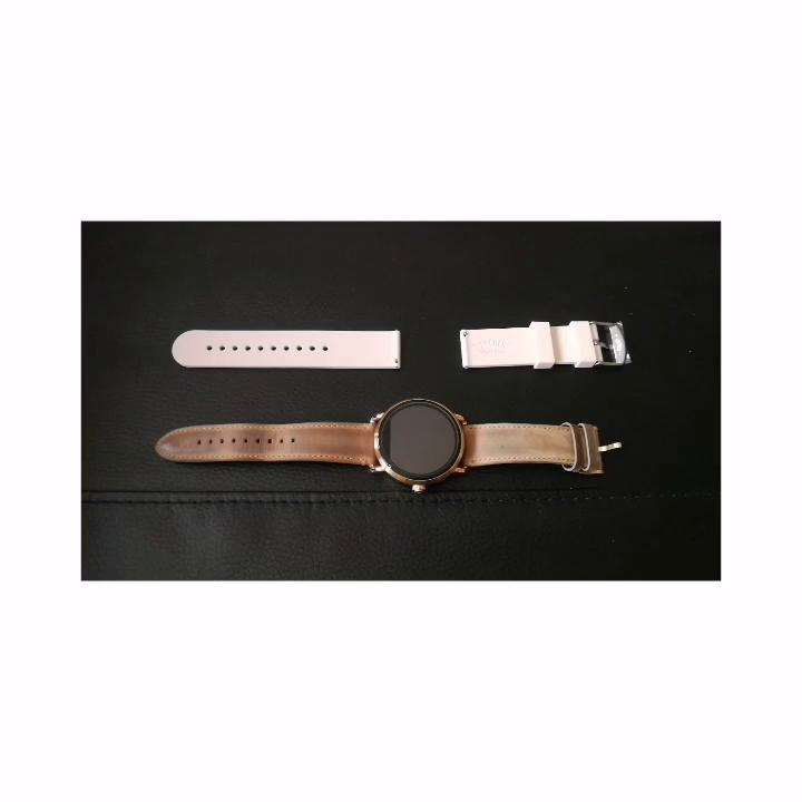 Archer Watch Straps | Repuesto de Correa Reloj de Silicona para Hombre y Mujer, Caucho Fácil de Abrochar para Relojes y Smartwatch | Amarillo Nápoles, ...