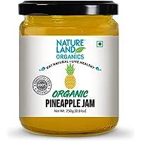 Natureland Organics Pineapple Jam 250gm - Healthy Organic Jams