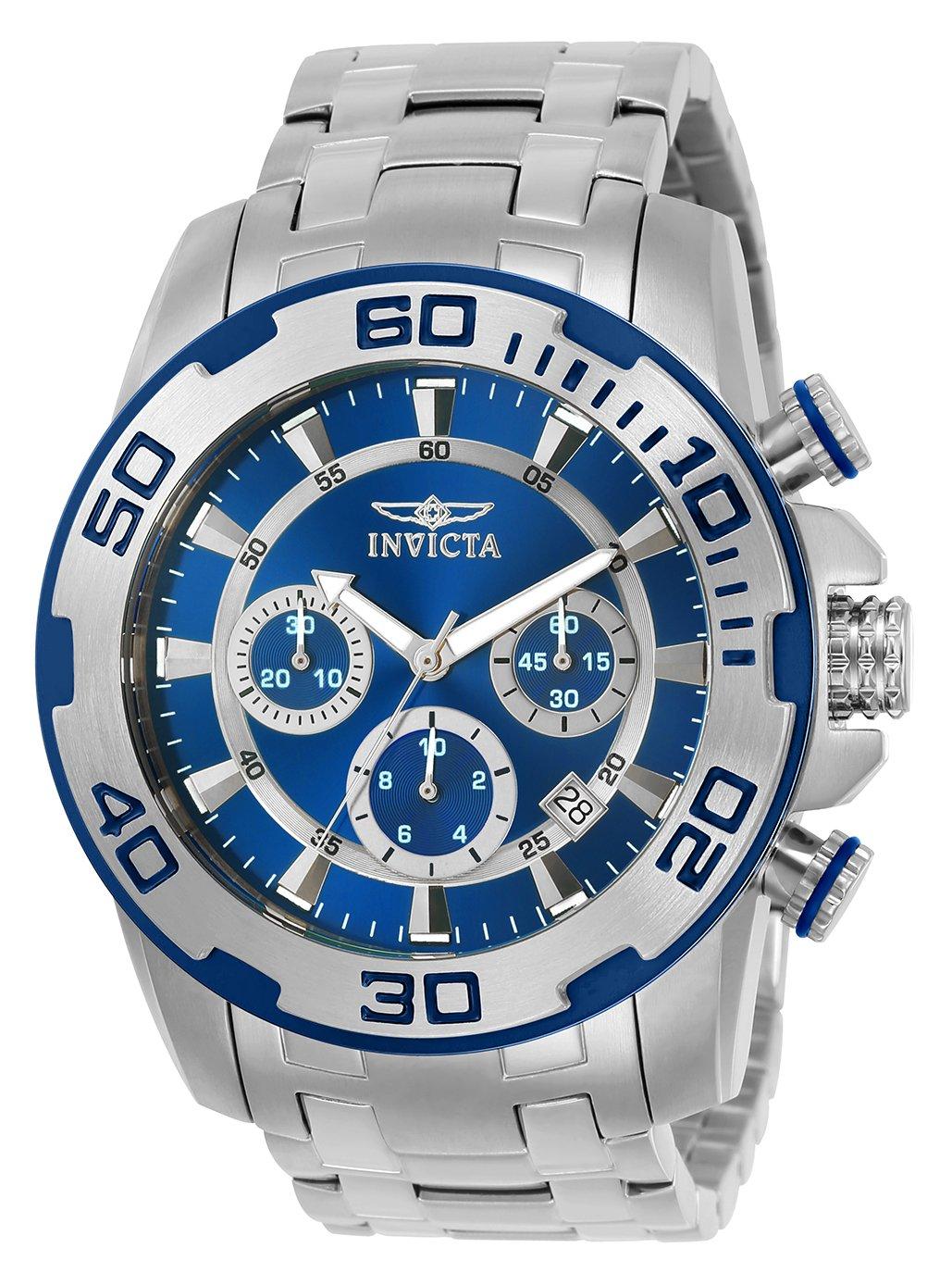 Invicta 22319 Pro Diver – Scuba Reloj para Hombre acero inoxidable Cuarzo Esfera azul
