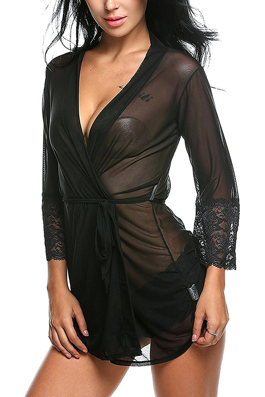 Indian Tailor Women Babydoll Night Dress Short Length ... 9ea9fd28f