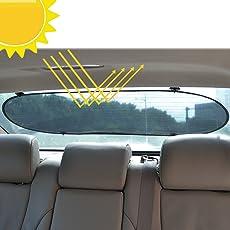 WANAPOOL Sonnenblenden Sonnenlicht Blocker für Autoseitenfenster und Rückscheibe - Schützen Sie Ihre Kinder vor Sonne und UV-Strahlen - 3 Stück
