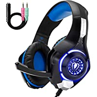 Beexcellent GM-1 Gaming Headset for PS4 Xbox One, Comfort Noise Reduction Crystal Clarity…