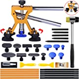 Manelord Auto Body Dent Repair Kit, Car Dent Puller with Golden Dent Puller for Auto Body Dent Removal, Minor Dent and…