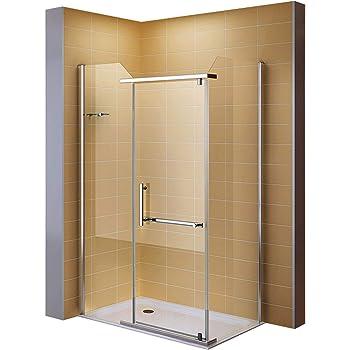 i flair dusche eckdusche duschkabine aus esg sicherheitsglas 8020 3 groessen 100x120 cm ohne. Black Bedroom Furniture Sets. Home Design Ideas