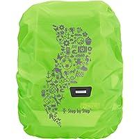 Step by Step Regen-/Sicherheitshülle, reflektierend, grün, passend für alle Schulranzen und Tornister, schützt vor Regen…