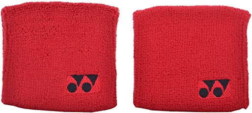 Yonex Wrist Band 1X2Pc Red (2Pc)