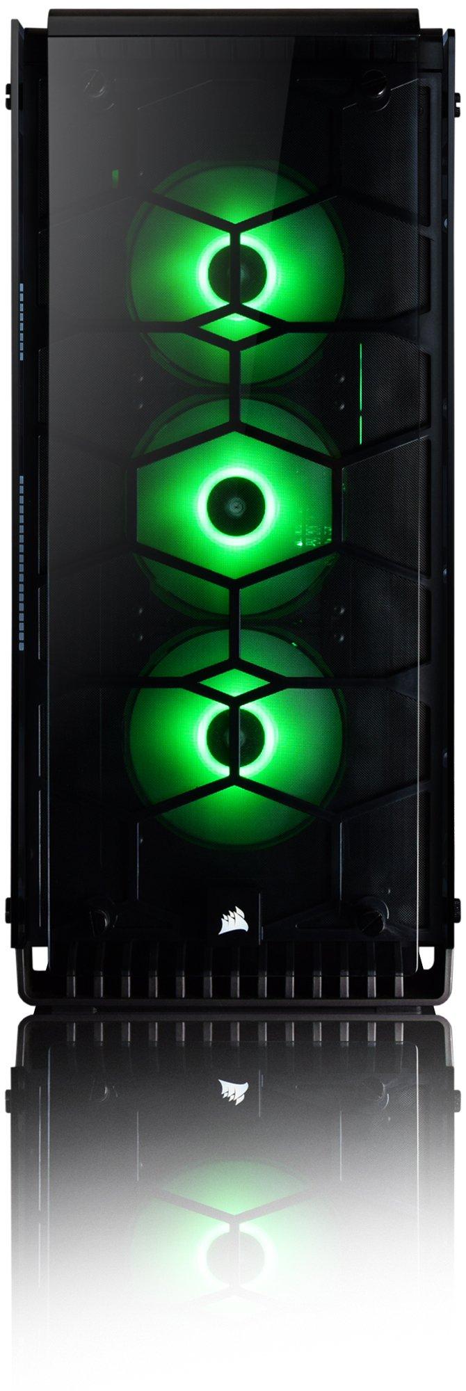 Vibox Venom GS580T-42 Gaming-PC Computer mit Spiel Bundle, Win 10 Pro, 3X Triple 24 Zoll HD Monitor (4,0GHz Ryzen Quad…