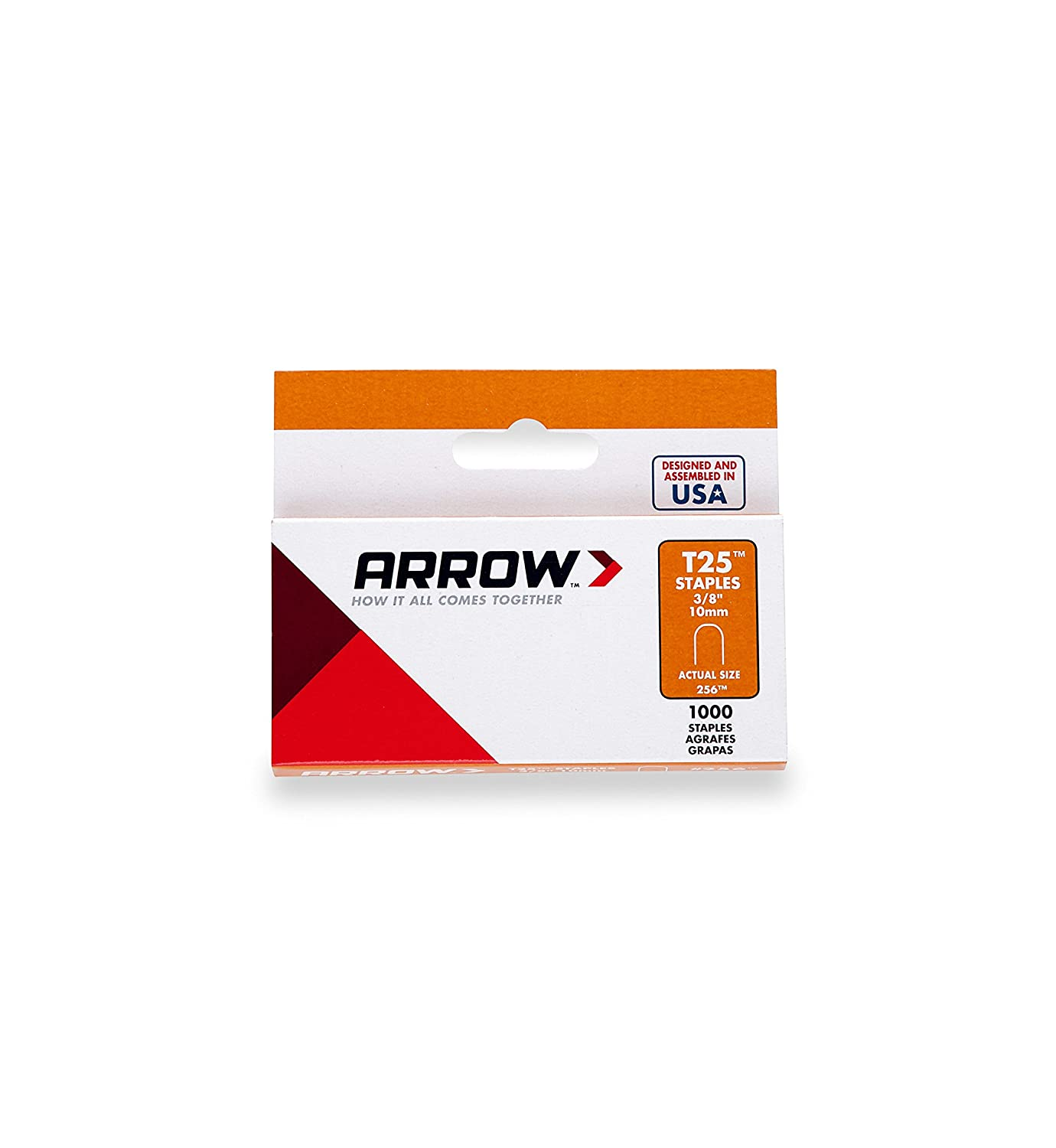 arrow t25 staples box 1000 10mm 3 8 inch diy tools