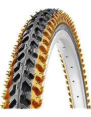 Ralson 26 X 1.95 inch Nylon Storm Orange MTB Cycle Tyre Good Grip