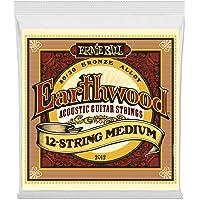 Ernie Ball Earthwood 12-String Medium 80/20 Bronze Acoustic Set, .011 - .052