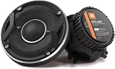 JBL GTO429 4-Inch Co-Axial Speaker (Black) - Set of 2