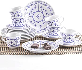Kaffeebecher 0,30 L Kahla blau saks  indischblau Stroh