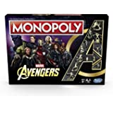 Hasbro Avengers Board Game Monopoly *English Version* Marvel games accessories