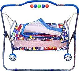 baba ji enterprises Baby Bassinet Cradle Stroller Cribs (palna)