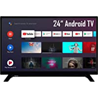 Toshiba 24WA2063DAX 24 Zoll Fernseher (HD-ready, Android TV, Triple-Tuner, Prime Video, WLAN, Bluetooth)