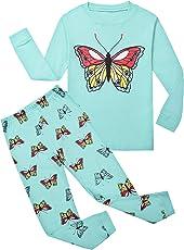 Garsumiss Mädchen Schlafanzug Giraffe Baumwolle Kinder Langarm Pyjama 98 104 110 116 122 128 134 140 146