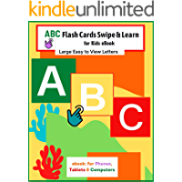 ABC Flash Cards Swipe & Learn for kids | eBook | early education for infants up to Pre-k | Learn Capitol and Lowercase…