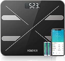 Bilancia Pesa Persona Digitale, Approvato dalla FDA, Homever Professionale Bluetooth Bilancia Pesapersone, Inteligente...