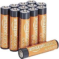 Amazon Basics - Pile Mini Stilo Alcaline AAA Performance, confezione da 12