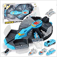 Toys Bhoomi Model Battleship Storage Long Haul Carrier for Cars, Bikes & Toy Vehicles for Boys and Girls Games