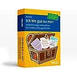 Ich bin gut zu mir!: Selbstfürsorge-Schatzkiste für Kinder und Jugendliche. 120 Karten mit 20-seitigem Booklet in…