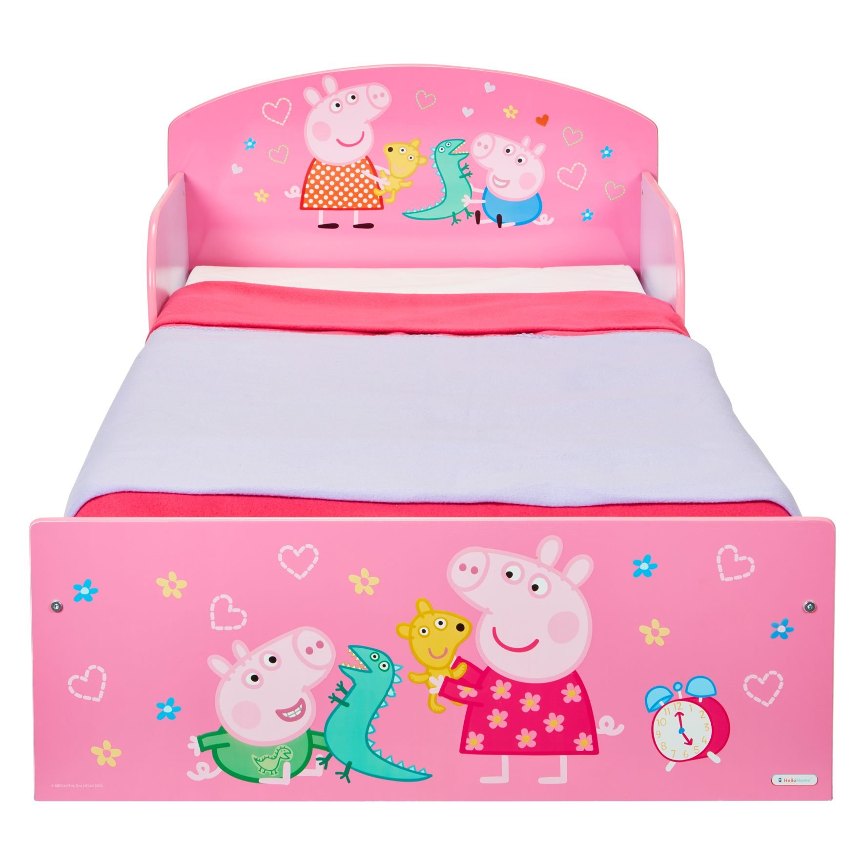 best loved 8b954 c7da4 Peppa Pig Kids Toddler Bed By HelloHome | Baby Toddlers