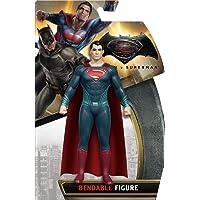 NJ Croce Batman v Superman, Superman Bendable Action Figure, Multi Color