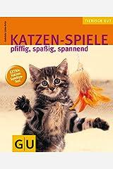 Katzen-Spiele, pfiffig, spaßig, spannend gelb 12 x 3,5 cm Broschiert