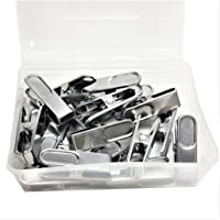 Dhanak Stainless Steel Cloth Hanging Clips_Drying Cloth Pegs_Cloth Pins_Rust-Proof_Non-Slip_Pack of (50)