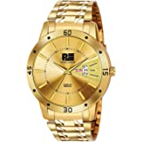 PIPER LONDON Analogue Men's Watch (Gold Dial)