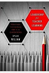Leadership for Teacher Learning Paperback