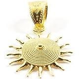Marrocu Gioielli - Ciondolo Sole Corbula Oro Giallo 18kt