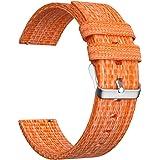 Ullchro Nylon Cinturini Orologi Alta qualità Orologi Bracciale - 16mm, 18mm, 20mm, 22mm, 24mm Cinturino Orologio Fibbia Dell'