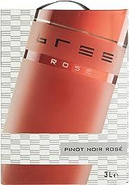 Bree Pinot Noir Rosé Qualit?tswein feinherb aus Deutschland, Bag-in-Box (1 x 3 l)