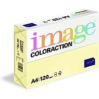 Image Coloraction - Papier de couleur Jaune Desert 120 g/m² A4 - Ramette de 250 feuilles