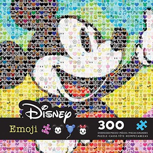 (Ceaco Disney Emoji Mickey Mouse Puzzle (300 Piece) by Ceaco)
