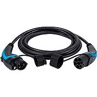 lighteu, DasVolt® EV/Câble de Recharge pour véhicule électrique   Type 1 à Type 2   32 A (7,2 KW) / Une Phase   Câble de…