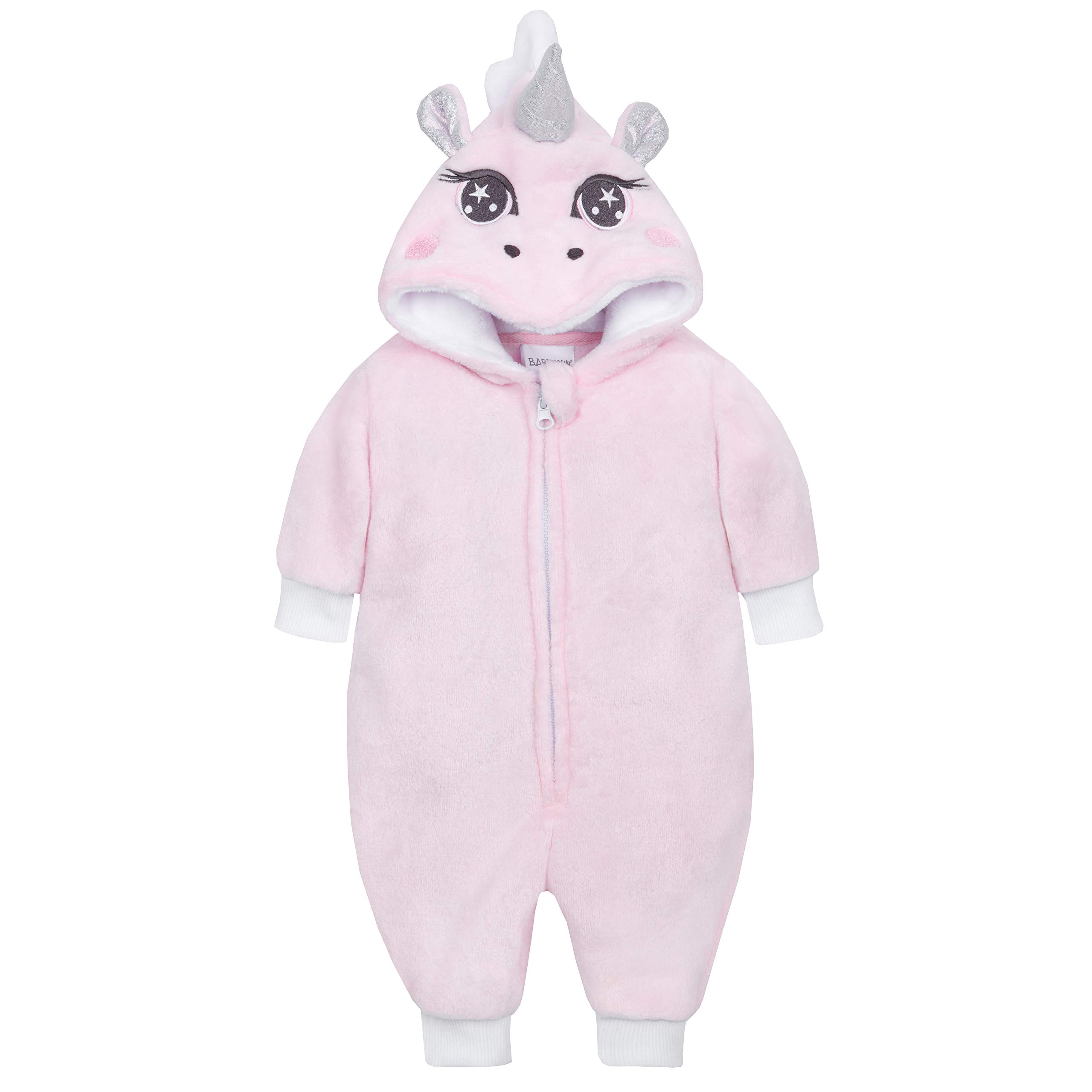 Metzuyan-Baby-Girls-Unicorn-All-in-One-with-Novelty-Hood