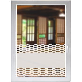 indigos ug folie f r duschkabine glasdekorfolie dusche sichtschutz bad fensterfolie wellen. Black Bedroom Furniture Sets. Home Design Ideas