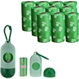 Mumoo Bear 2724623440255 150 Pieces Dog Waste Poop bags 10 Refill Rolls Includes Dispenser