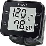 HYLOGY Misuratore di Pressione da Polso Digitale, Sfigmomanometro da Polso e Pulsazione Rilevazione Automatica, Grande Scherm