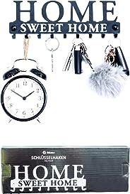 Stilemo Schlüsselbrett zum ordentlichen Aufhängen - Sparen Sie Zeit mit dem Schlüsselboard Home Sweet Home - Hakenleiste Schl