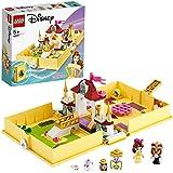 LEGO 43177 Disney Princess Belles Verhalenboekavonturen Kasteelset uit Belle en het Beest, Reiskoffer Speelgoed voor Kinderen