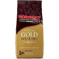Kimbo Aroma Gold - Coffee Beans 1kg (1 kg, Whole bean)