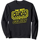 Grandad The Best In The Galaxy Gift Sweatshirt